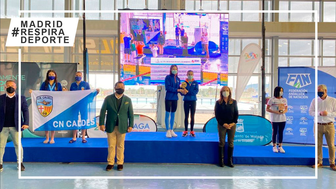 Gredos San Diego, campeón de España infantil femenino y subcampeón masculino de natación