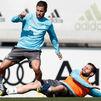 Hazard y Sergio Ramos aumentan el ritmo