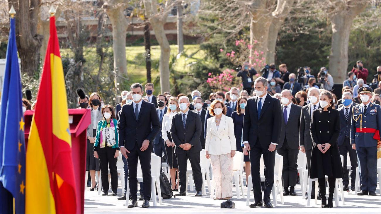 El homenaje europeo a las víctimas del 11-M cierra la jornada en su recuerdo