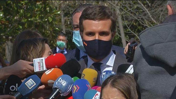 """Casado: """"Las elecciones en Madrid serán la primera etapa de la unión del centro derecha en torno al PP"""""""