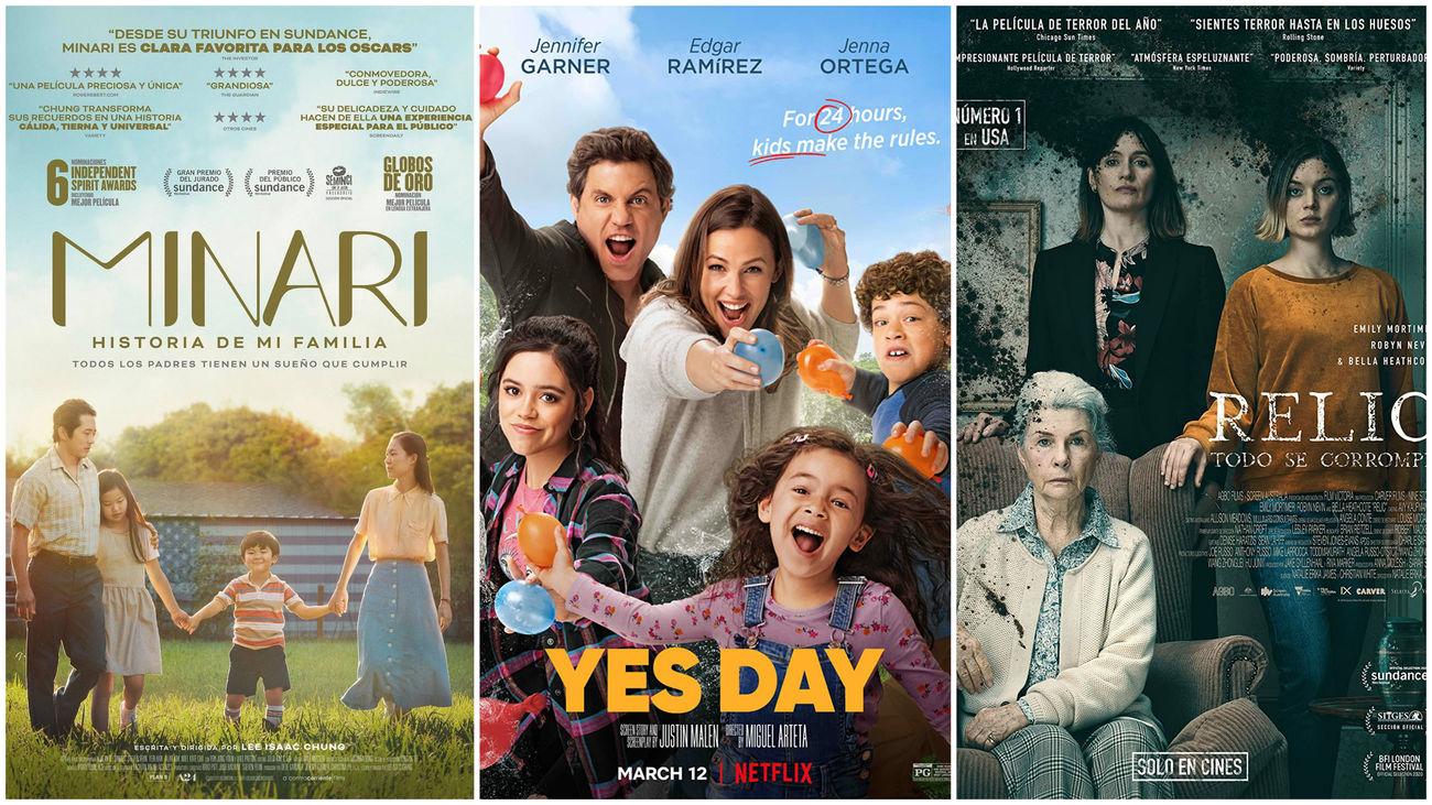 Estrenos de cine... contados de otra manera: de familias y abuelas