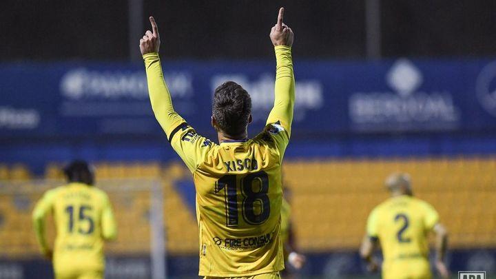 """Xisco, jugador del Alcorcón: """"Quería homenajear a mi padre"""""""