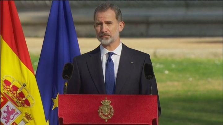 """Felipe VI: """"Las víctimas del terrorismo son una referencia ética en nuestros sistemas democráticos"""""""