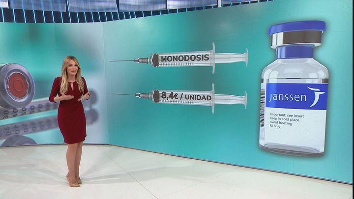 Las primeras dosis de vacuna monodosis de Jansen llegarán a España en abril