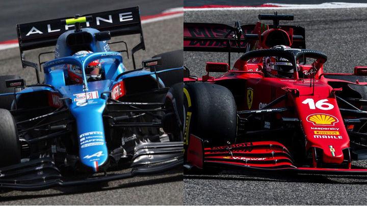 Primer test de la temporada para Alonso y Sainz