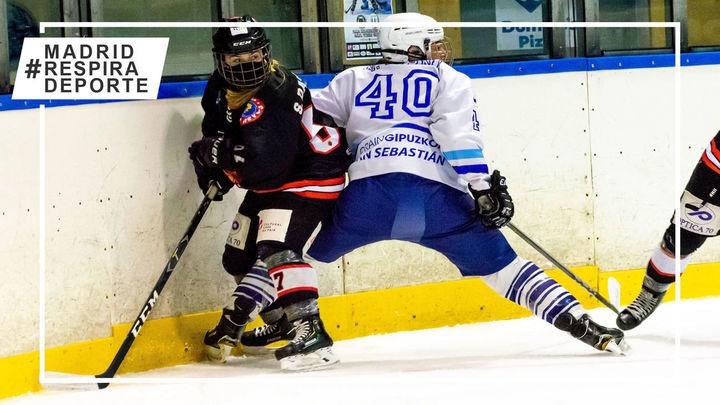 Arranca la final de la femenina de hockey hielo con el Majadahonda de favorito