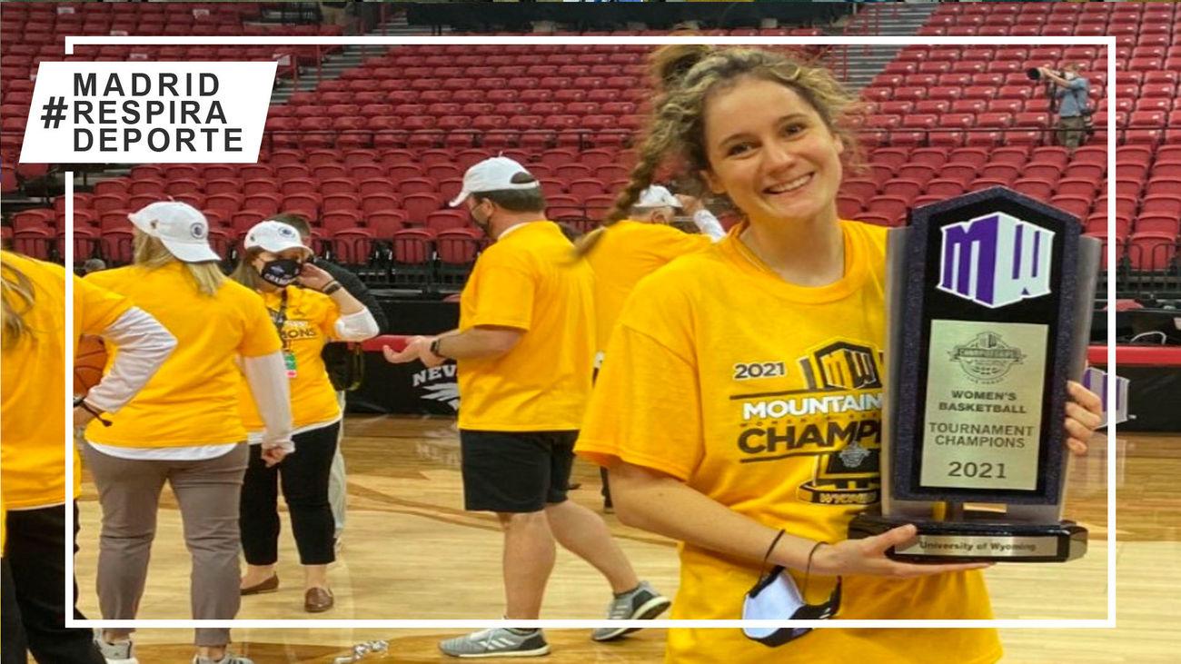 La madrileña Alba Sánchez-Ramos, campeona de conferencia en la NCAA