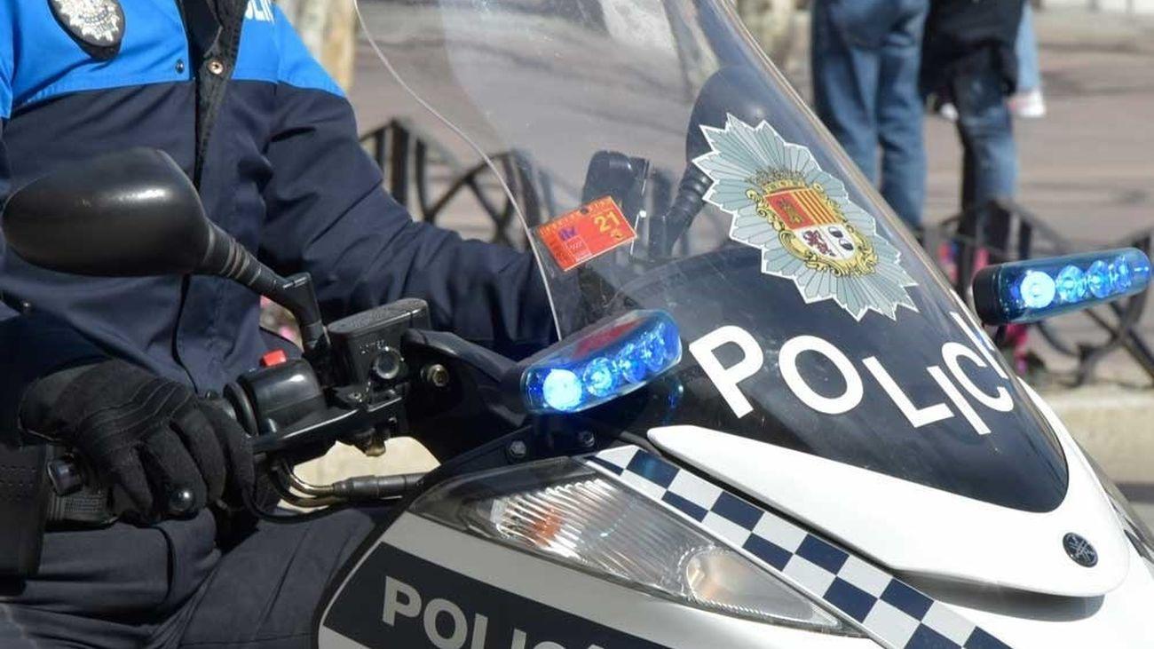 Agente de la policía local de Torrejón
