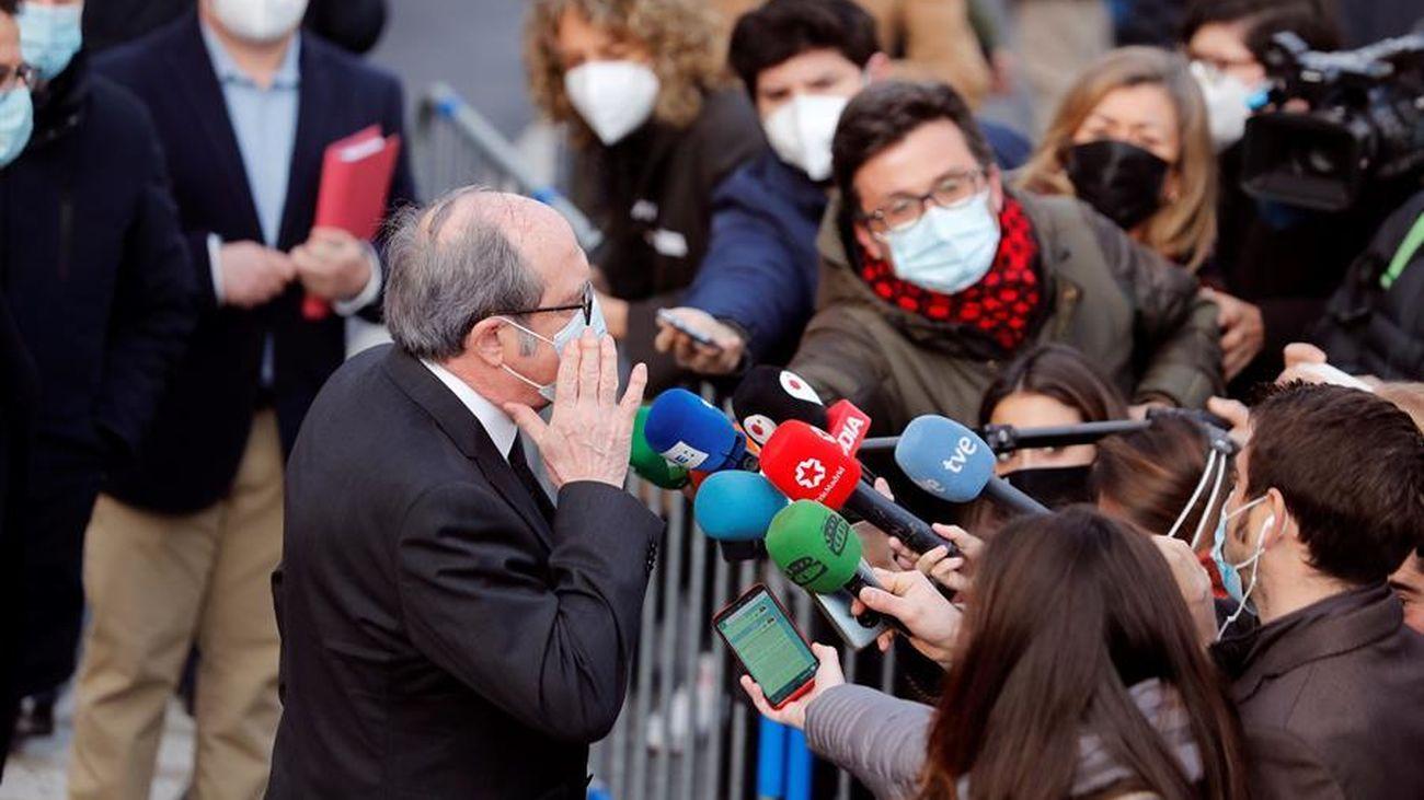"""Gabilondo vuelve a ser candidato del PSOE: """"Es un honor, estoy dispuesto y tengo convicción, motivación y compromiso"""""""