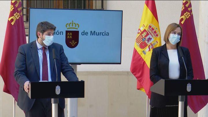 Revés de López Miras a la moción de censura en Murcia al incluir en su gobierno a tres diputados de Ciudadanos