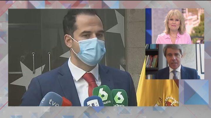 """Ángel Garrido: """"En Madrid hay un líder de Ciudadanos que se llama Ignacio Aguado"""""""