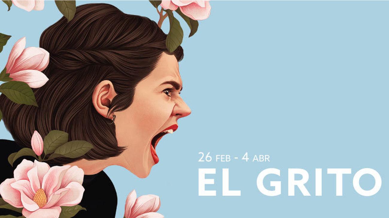 Cartel de la obra 'El grito'