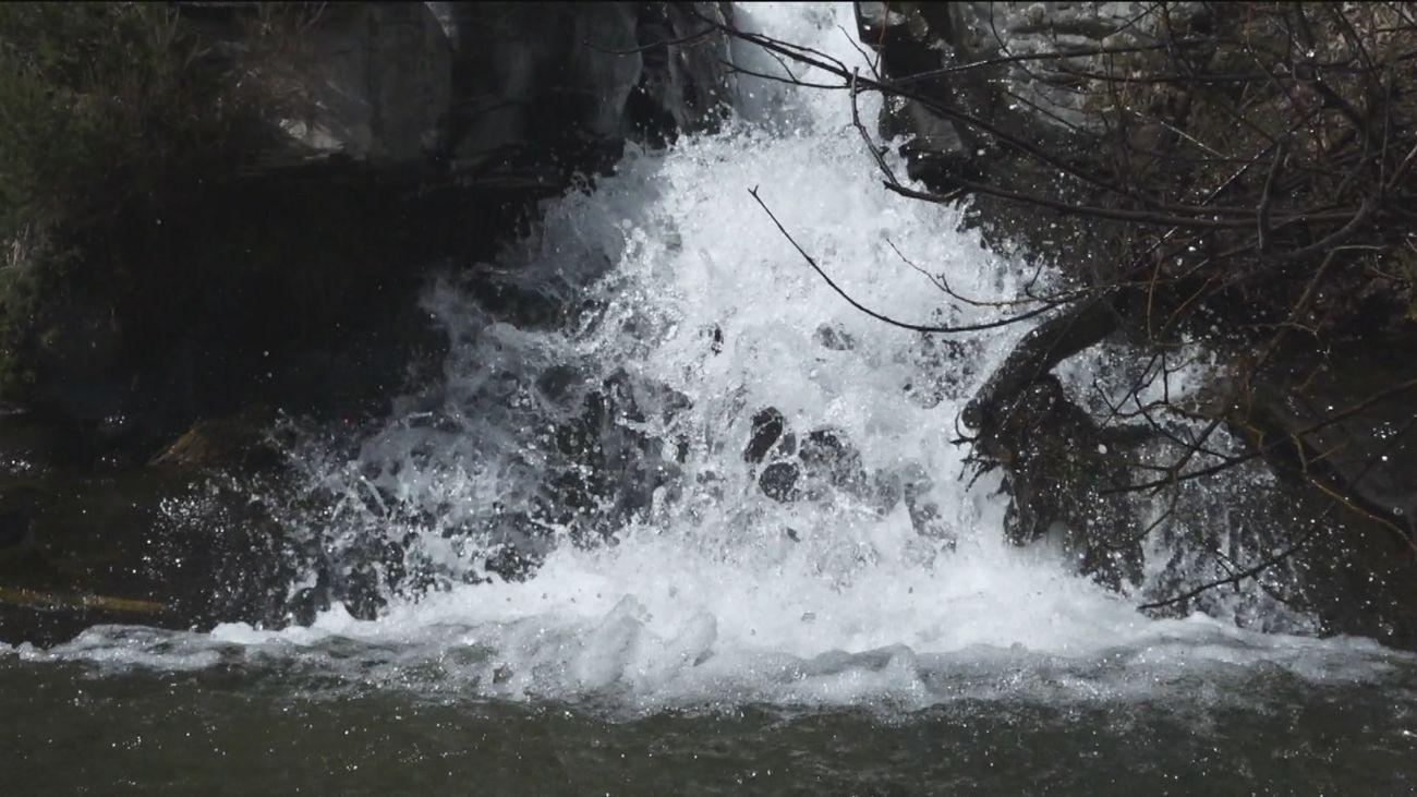 Una cascada secreta sin salir de Madrid