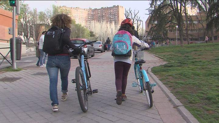 Colegios sin coches, una iniciativa sostenible en la capital