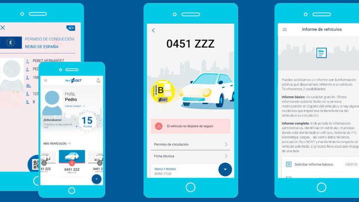 Un millón y medio de españoles llevan ya el carné de conducir en el móvil