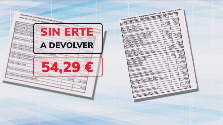 Los contribuyentes en ERTE pagarán en la declaración de la Renta en función de lo cobrado