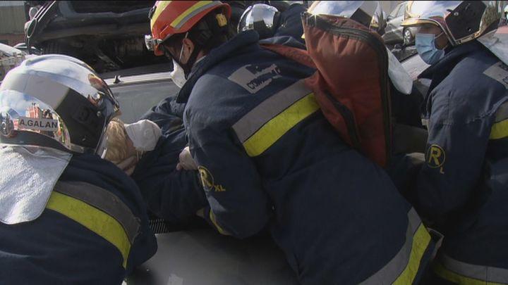 Así actúan los bomberos de la Comunidad ante situaciones críticas