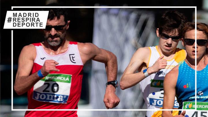 García Bragado pulveriza el récord mundial M50 de 20 km marcha