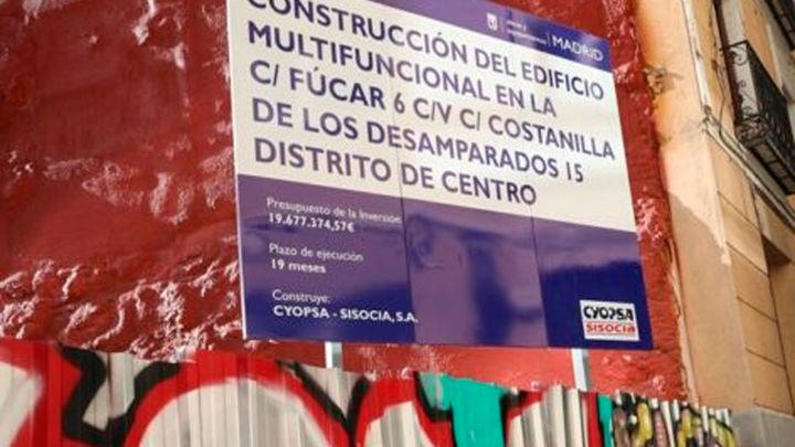 Paralizadas las obras del centro multifuncional en el Barrio de Las Letras por la aparición de restos arqueológicos