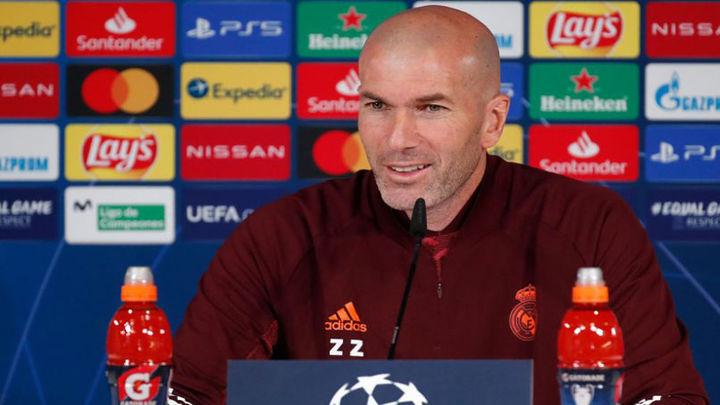 """Zidane: """"Tenemos que demostrar mucho ante el Atalanta para pasar"""""""