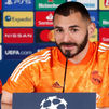 """Benzema: """"Tenemos que salir con mucha ambición y ganar el partido"""""""