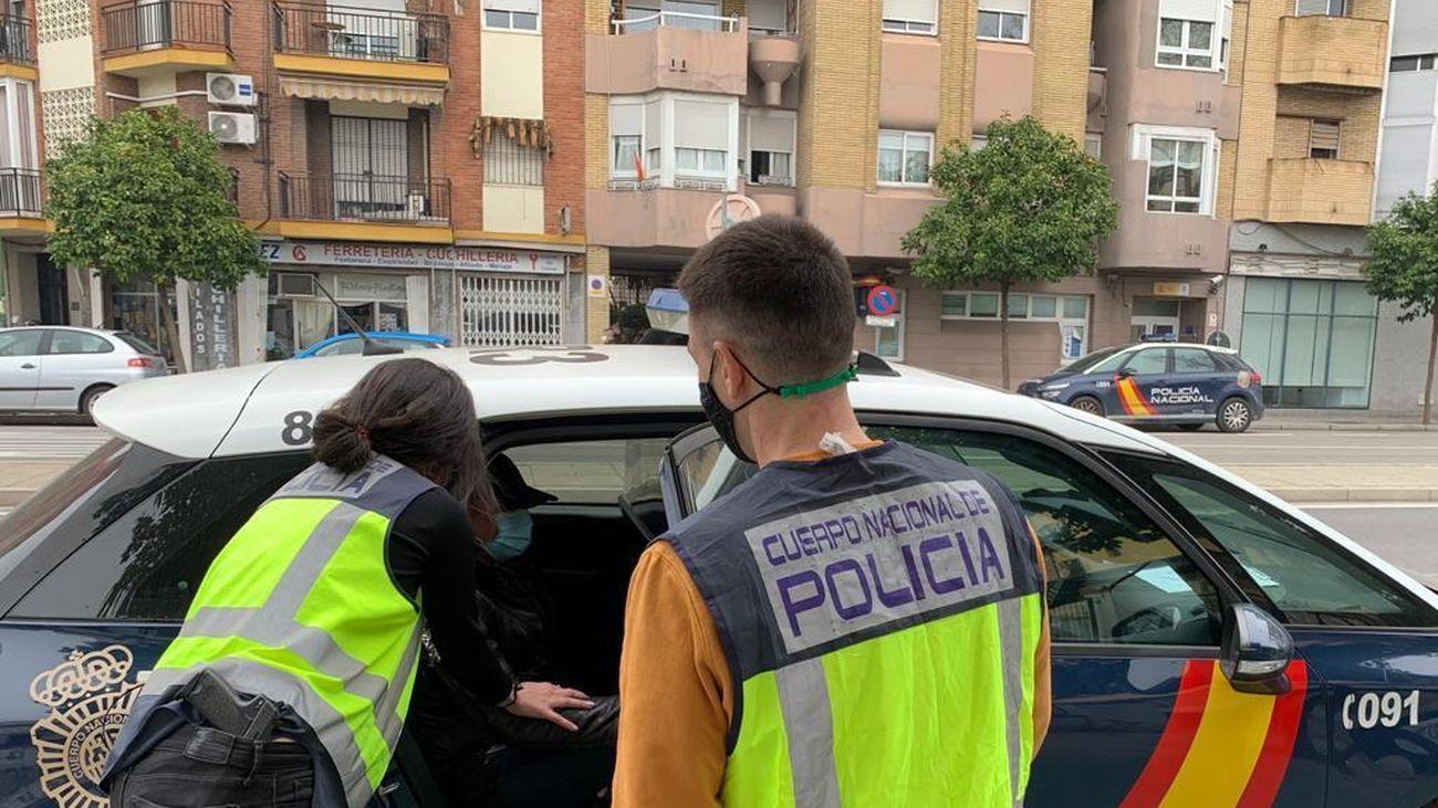 Agentes de la Policía Nacional
