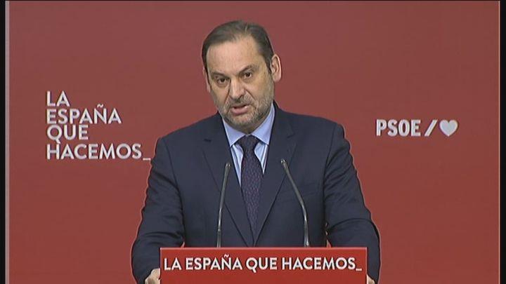 Ábalos no da por seguro que López Miras vaya a esquivar la moción de censura en Murcia