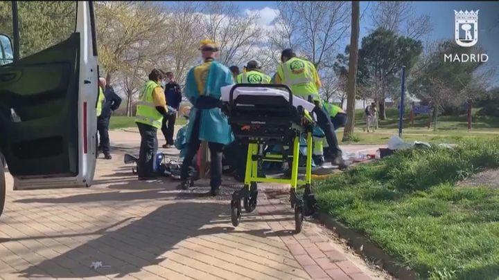 Piden ayuda para localizar al conductor del patinete que se dio a la fuga tras arrollar a una anciana