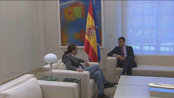 Pablo Iglesias y Pedro Sánchez: una historia de discrepancias