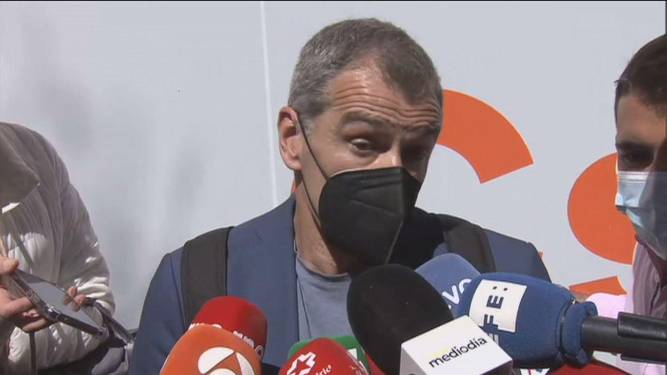 Toni Cantó deja la política, carga contra Arrimadas y pide ir con el PP a las elecciones en Madrid