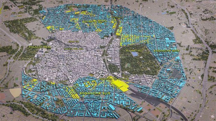 'Desmontando Madrid' reconstruye la expansión urbanística de la ciudad