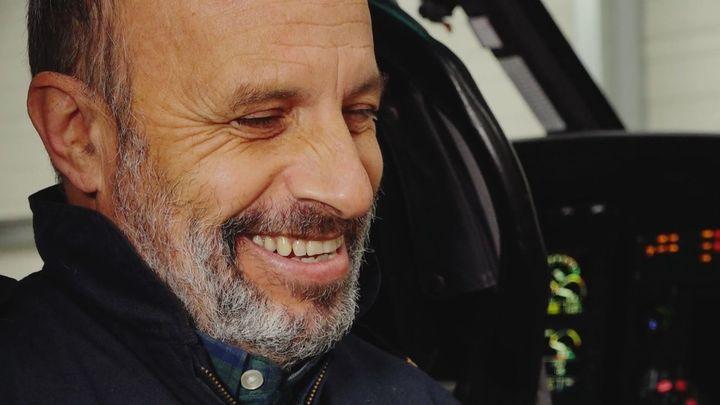 José Luis Cubeiro, uno de los mejores pilotos de rescate de España