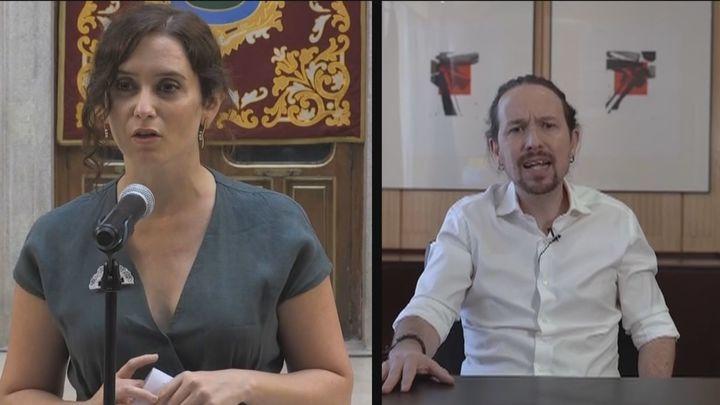 Nuevo giro de guion en el terremoto político de Madrid que sirve un duelo entre Isabel Díaz Ayuso y Pablo Iglesias