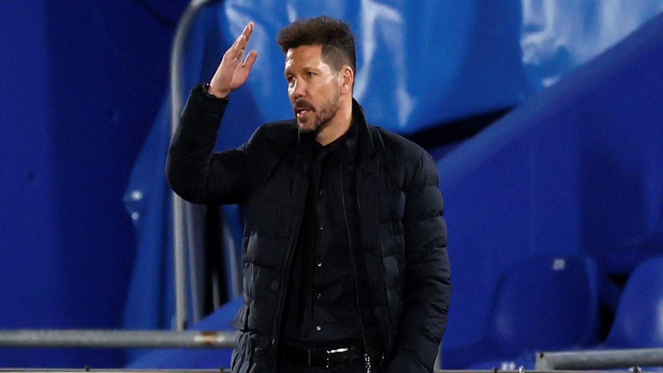 """Simeone:  """"Ante el Chelsea puede ser un día muy bonito. ¿Por qué no?"""""""