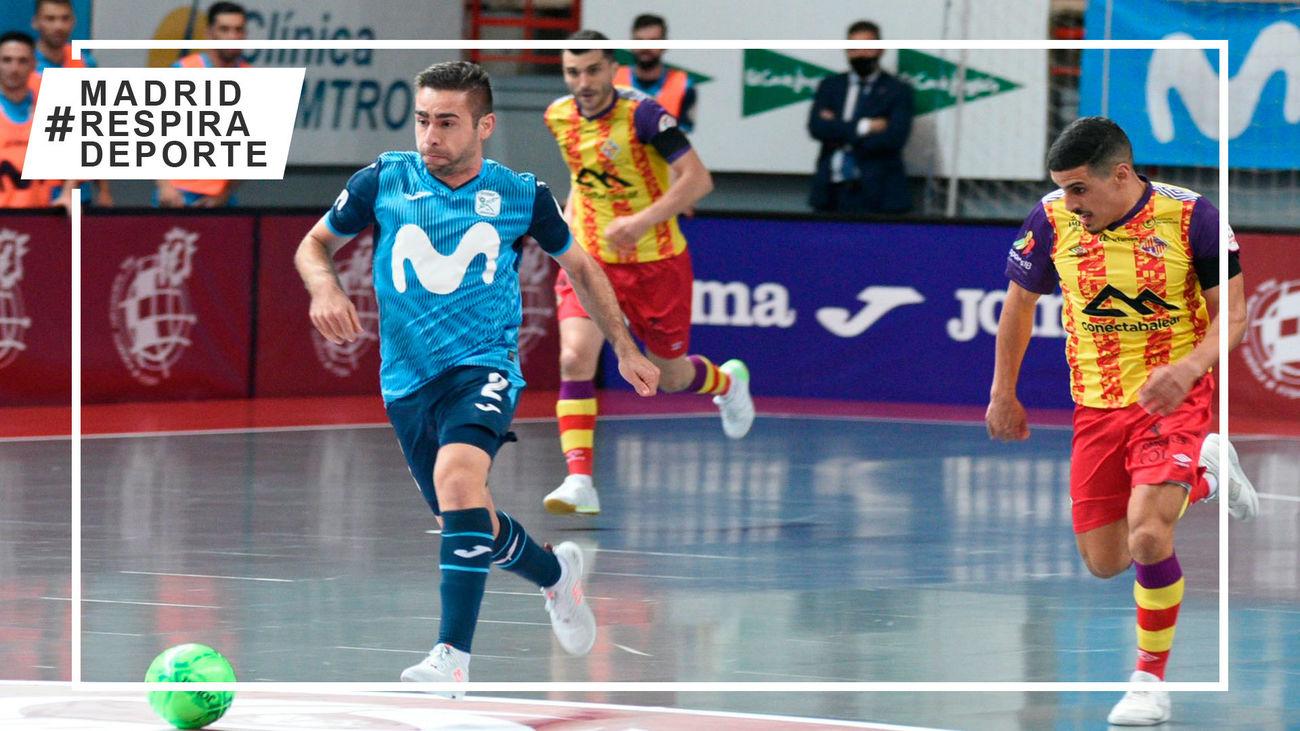 3-1. Movistar Inter responde ante el Palma Futsal