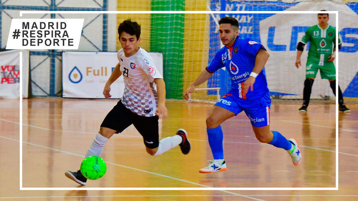 Rivas Futsal, CD Leganés y Ciudad de Móstoles suman tres empates