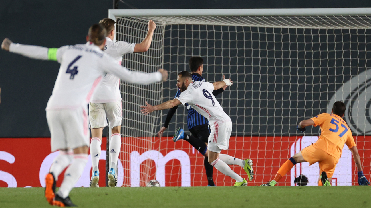 3-1. Benzema y Ramos meten al Real Madrid en cuartos de la Champions