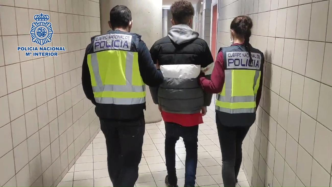 Detenidos en Móstoles 11 miembros de la banda latina Forty Two
