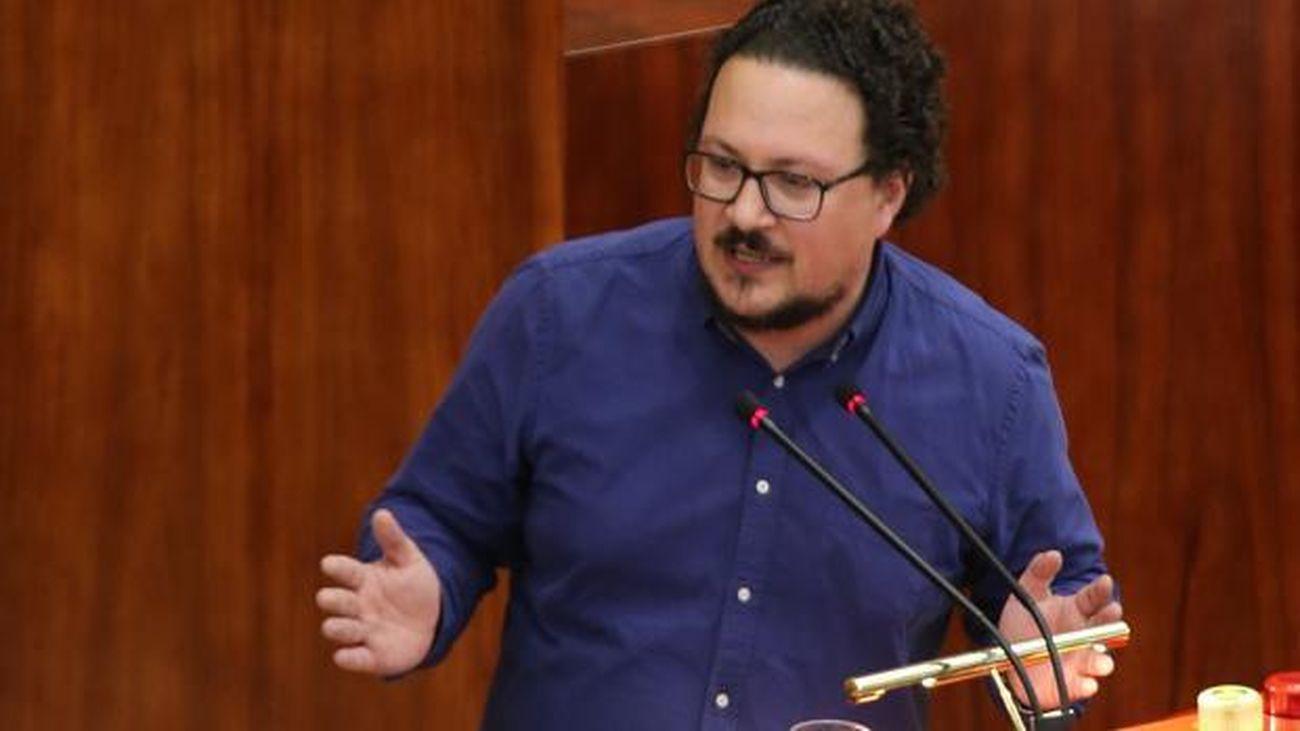 Jacinto Morano, portavoz adjunto de Unidas Podemos en la Asamblea de Madrid