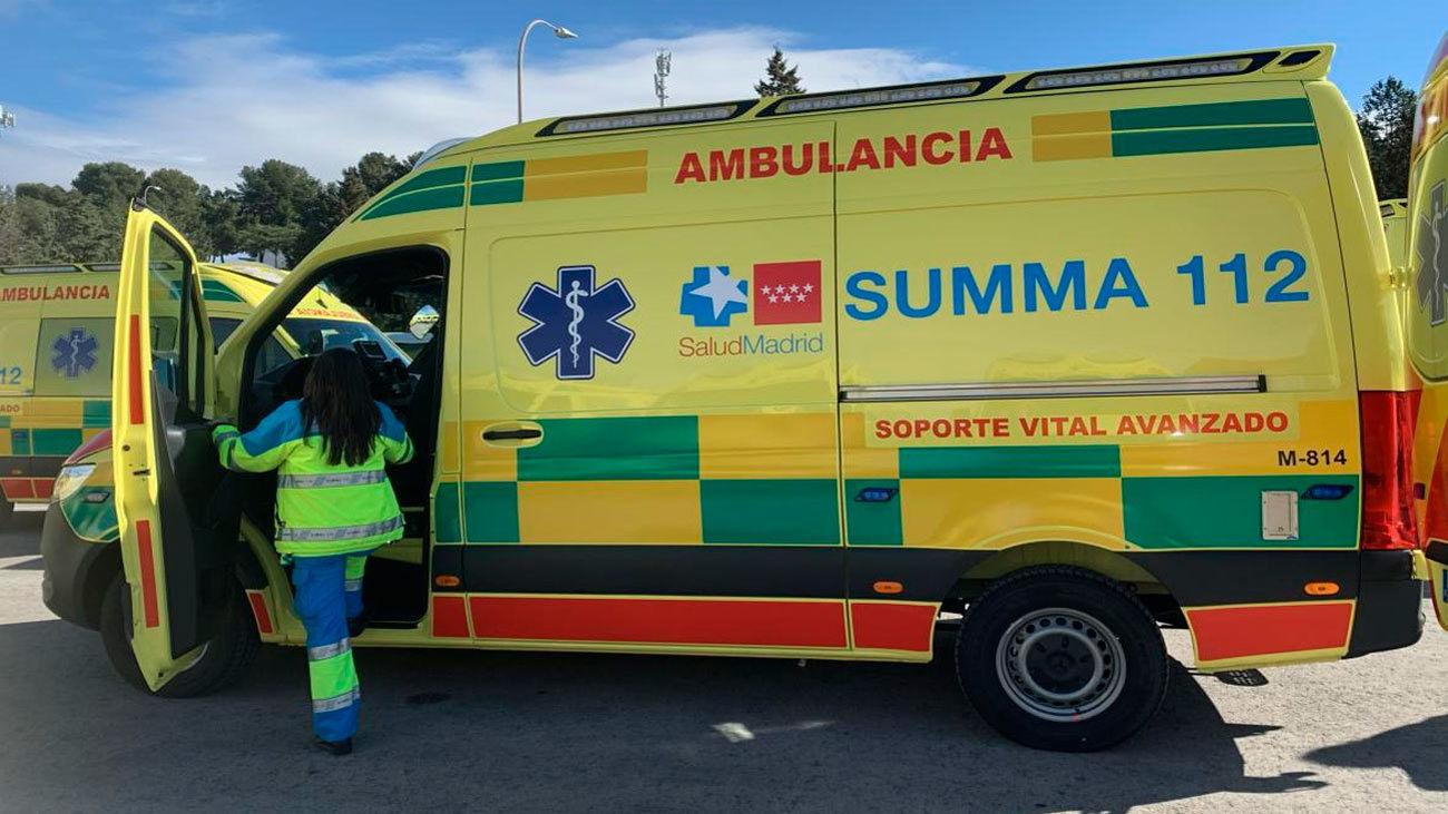 El SUMMA 112 renueva su flota de ambulancias de UVI móvil