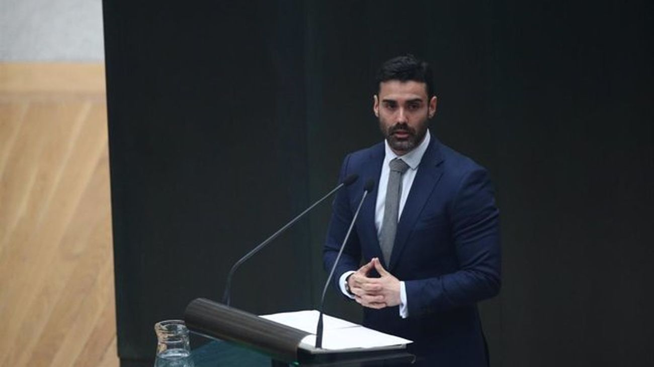 Sergio Brabezo, portavoz adjunto de Ciudadanos en la Asamblea de Madrid