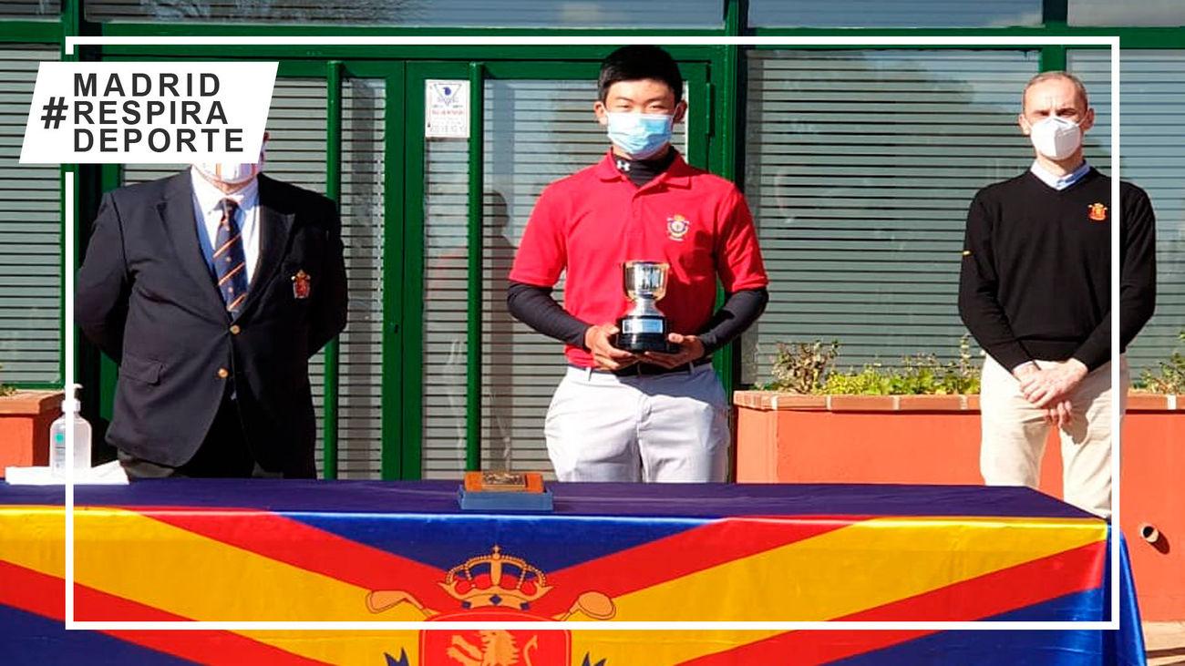 El juvenil Jorge Hao logra su primer título nacional