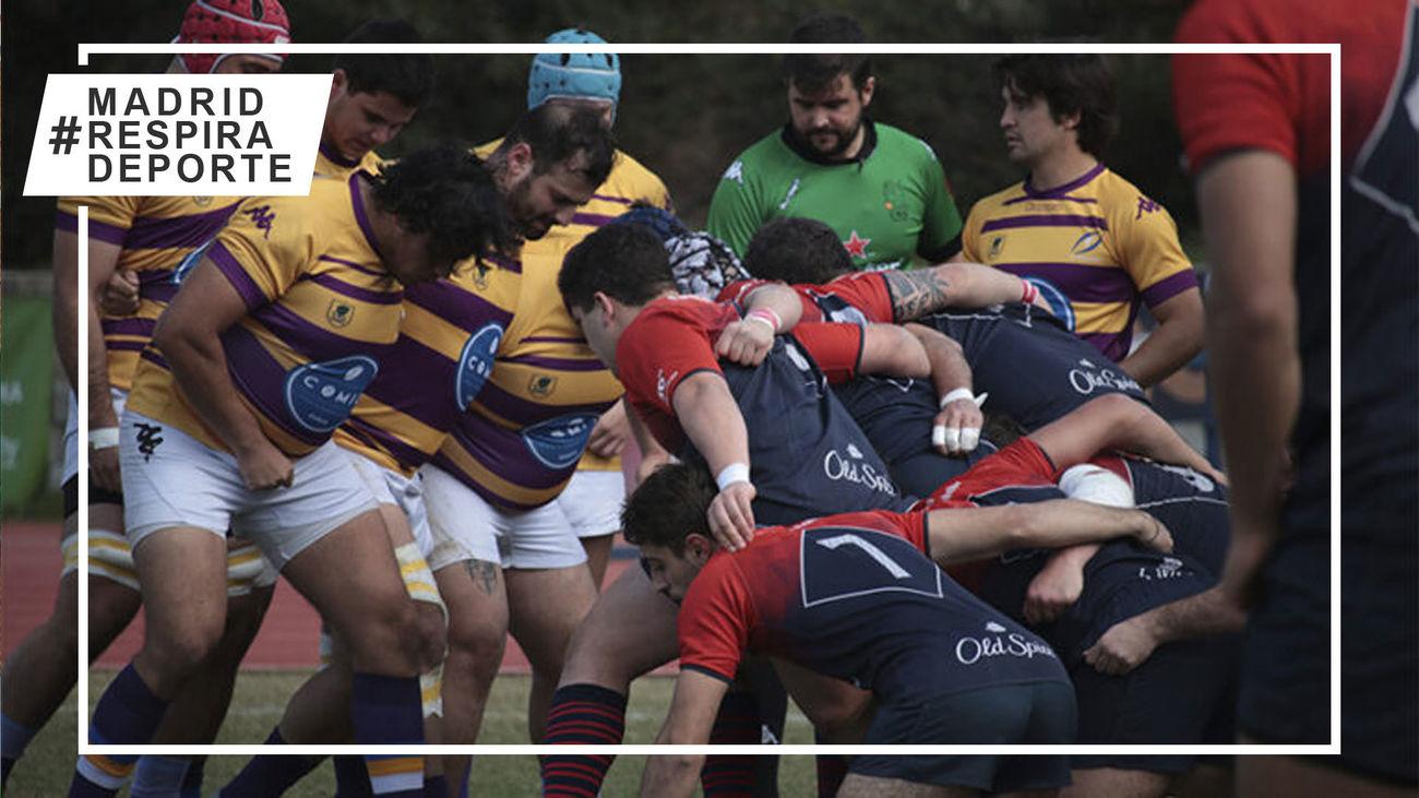 Pozuelo Rugby Union asciende a la segunda plaza tras ganar al Rugby Majadahonda