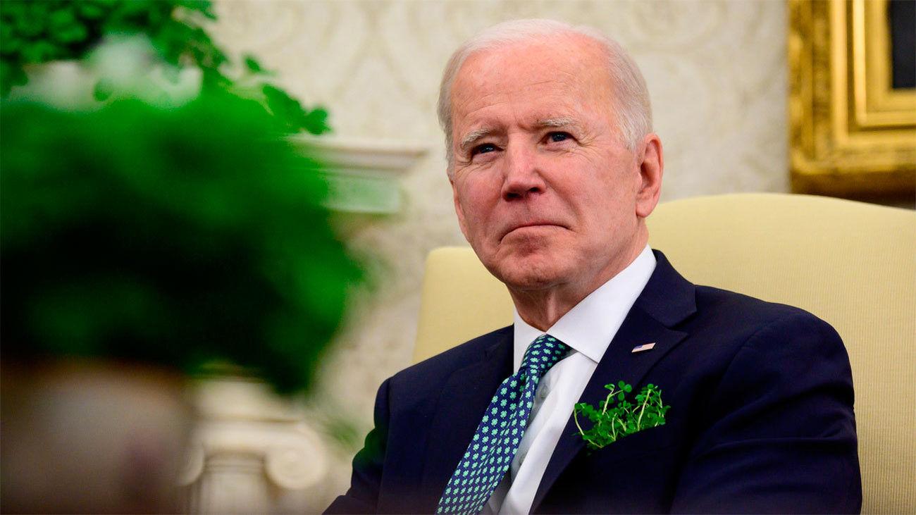 El presidente norteamericano Joe Biden