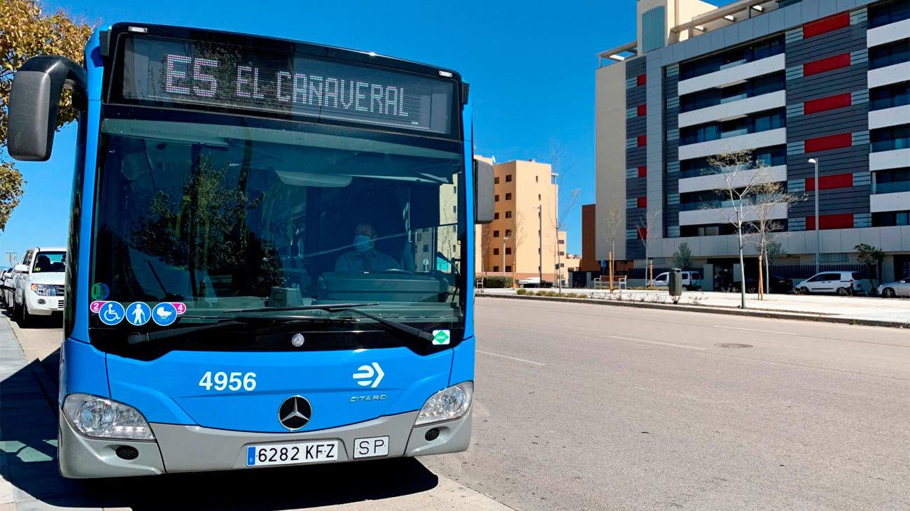 La E-5, línea exprés entre Manuel Becerra y El Cañaveral