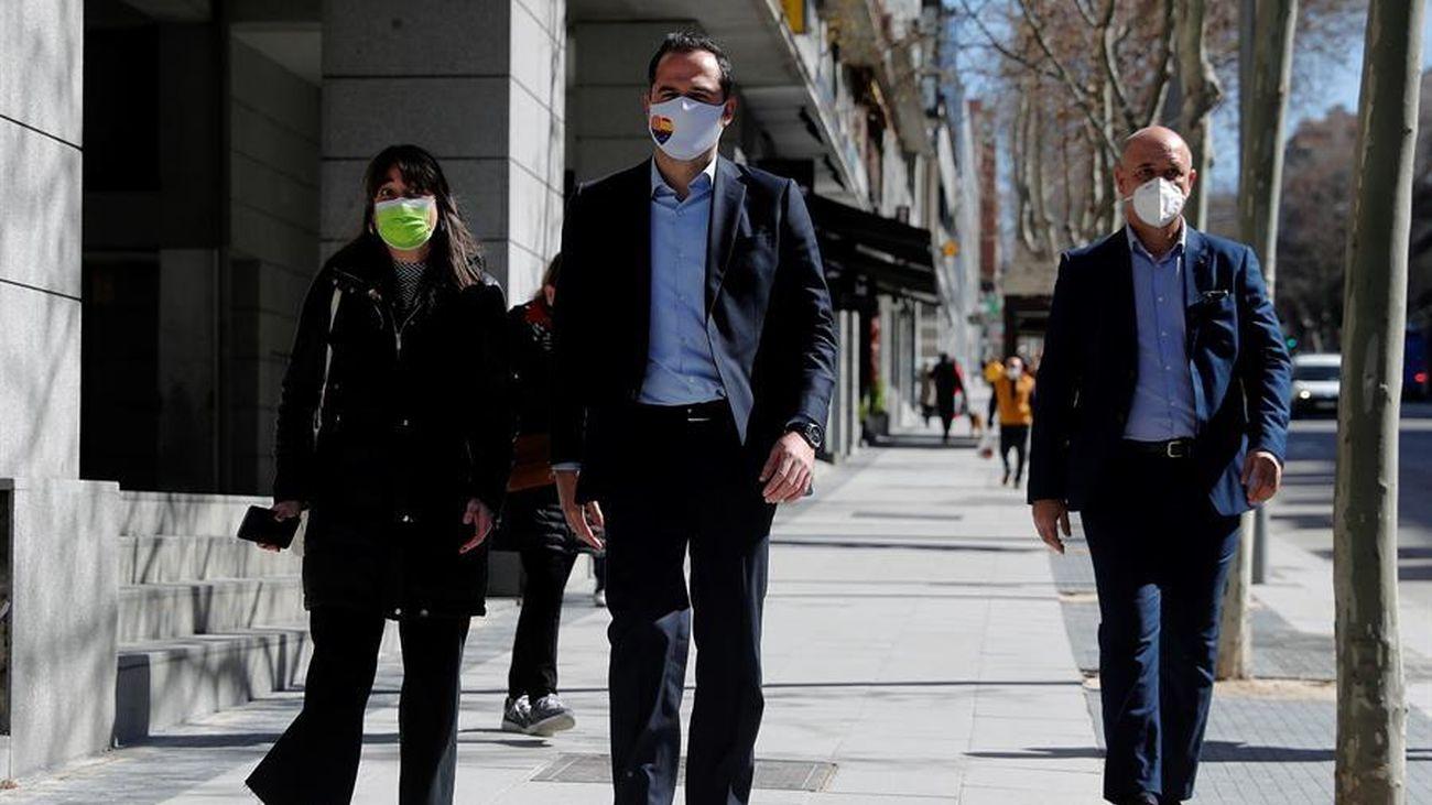 Ciudadanos Madrid celebrará primarias el domingo  con, al menos, dos candidatos