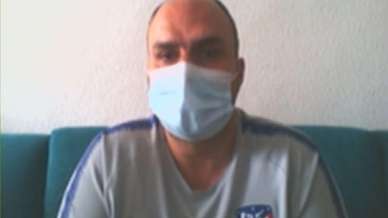 La pesadilla de David por el coronavirus: perdió a su madre y su trabajo y sigue con secuelas