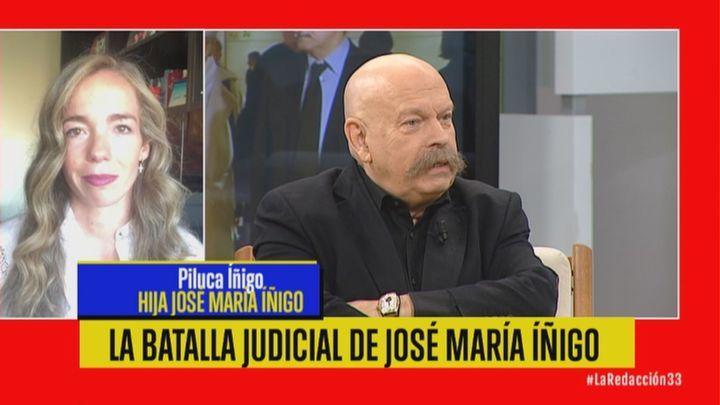 """La familia de José María Íñigo gana la batalla judicial: """"Es un alivio moral"""""""