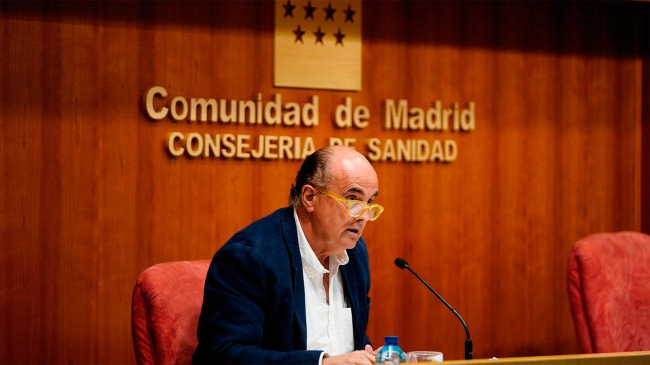 Antonio Zapatero, viceconsejero de Sanidad de Madrid