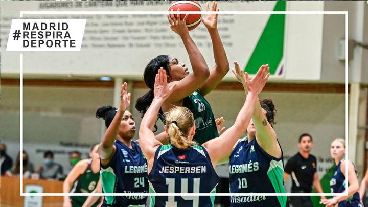 Baloncesto Leganés jugará en casa la fase de ascenso a la Liga Endesa